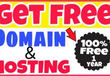 How To Get a Free Web Domain and Unlimited Hosting