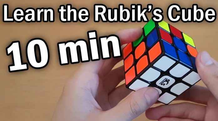 Learn how to solve a Rubik's cube in 10 minutes (beginner tutorial)