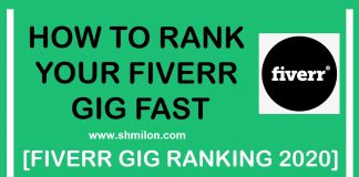 how to rank your gig on fiverr first page