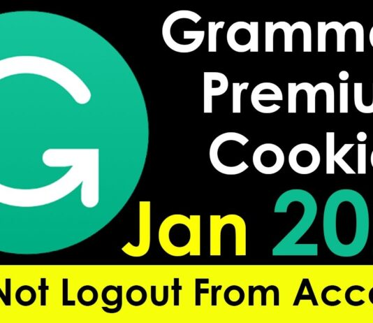 grammarly premium cookies 2021