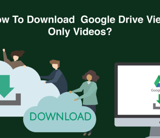 How to download Google Drive view only Videos or files step by step easily